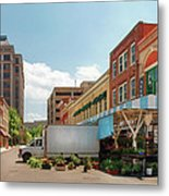 City - Roanoke Va - The City Market Metal Print by Mike Savad