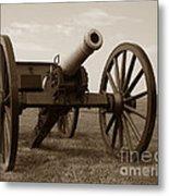 Civil War Cannon Metal Print by Olivier Le Queinec