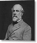 Civil War General Robert E Lee Metal Print by War Is Hell Store