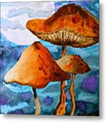 Claiming The Moon Metal Print by Beverley Harper Tinsley