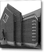 Clarke University Sacred Heart Chapel Metal Print by University Icons