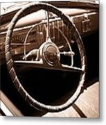 Classic Cars Metal Print by Edward Fielding