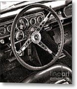 Classic Mustang Metal Print by Olivier Le Queinec
