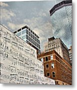 Classical Graffiti Metal Print by Kristin Elmquist