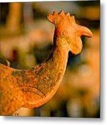 Clay Cockerel Bhaktapur Metal Print by Raimond Klavins