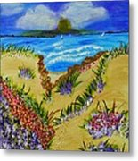 Cliff Notes Metal Print by Celeste Manning