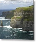 Cliffs Of Moher 2 Metal Print by Mike McGlothlen
