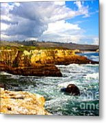 Cliffs Metal Print by Shannan Peters