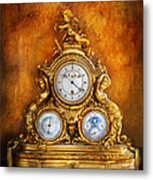 Clockmaker - Anyone Have The Time Metal Print by Mike Savad