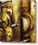 Clockmaker - We All Mesh Metal Print by Mike Savad