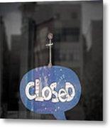 Closed Sleep Tight Metal Print by Scott Norris