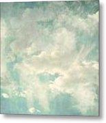 Cloud Series 1 Of 6 Metal Print by Brett Pfister