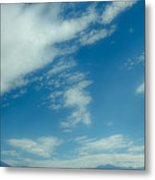 Clouds Over Priest Lake Metal Print by David Patterson