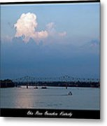 Clover Cary Bridge 2 Metal Print by David Lester