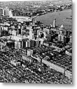 Cnac Douglas Over Shanghai In 1937 Metal Print by Retro Images Archive