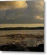 Coastal Winters Afternoon 3 Metal Print by Amy-Elizabeth Toomey