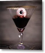 Cocktail For Dracula Metal Print by Edward Fielding