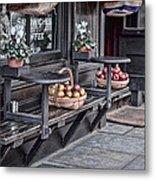 Coffe Shop Cafe Metal Print by Heather Applegate