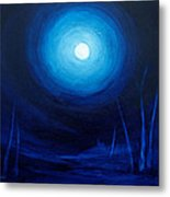 Cold Orb Metal Print by Michelle Wiarda