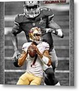 Colin Kaepernick 49ers Metal Print by Joe Hamilton