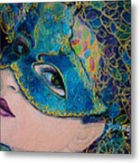 Colombina's Sight Metal Print by Dorina  Costras