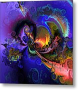 Color Gone Amok Metal Print by Claude McCoy