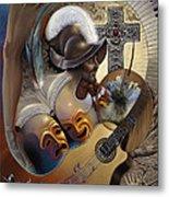 Color Y Cultura Metal Print by Ricardo Chavez-Mendez