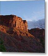 Colorado River Sunrise Metal Print by Michael J Bauer