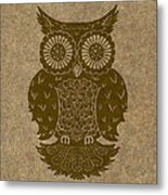 Colored Owl 3 Of 4  Metal Print by Kyle Wood