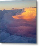 Colorful Cloud Metal Print by Brian Jannsen