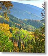 Colorful Colorado Metal Print by Brian Harig