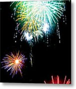 Colorful Explosions No3 Metal Print by Weston Westmoreland