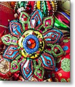 Colorful Ornaments Metal Print by Garry Gay