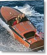 Colors Of The Flag Metal Print by Steven Lapkin