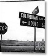 Columbian Boulevard Metal Print by John Rizzuto