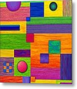 Combination Metal Print by David K Small