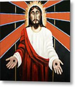 Come Metal Print by Anthony Falbo