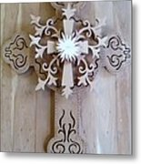Come To The Cross Metal Print by Michael Pasko