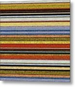 Comfortable Stripes Vll Metal Print by Michelle Calkins