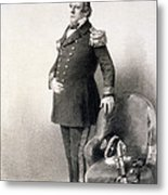 Commodore Matthew Calbraith Perry Metal Print by Wilhelm Heine