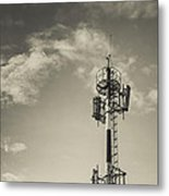 Communication Tower Metal Print by Marco Oliveira
