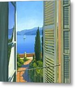 Como View Metal Print by Michael Swanson