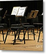 Concert Time Out Metal Print by Ann Horn