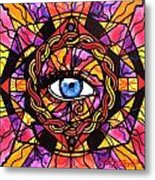 Confident Self Expression Metal Print by Teal Eye  Print Store