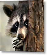 Conspicuous Bandit Metal Print by Christina Rollo