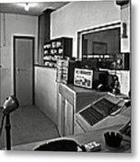 Control Room In Alcatraz Prison Metal Print by RicardMN Photography