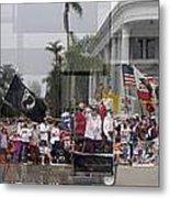 Coronado Fourth Of July Parade Metal Print by Stephen Farley