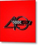 Corvette 40 Metal Print by Phil 'motography' Clark