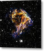 Cosmic Heart Metal Print by The  Vault - Jennifer Rondinelli Reilly