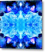 Cosmic Kaleidoscope 1 Metal Print by The  Vault - Jennifer Rondinelli Reilly